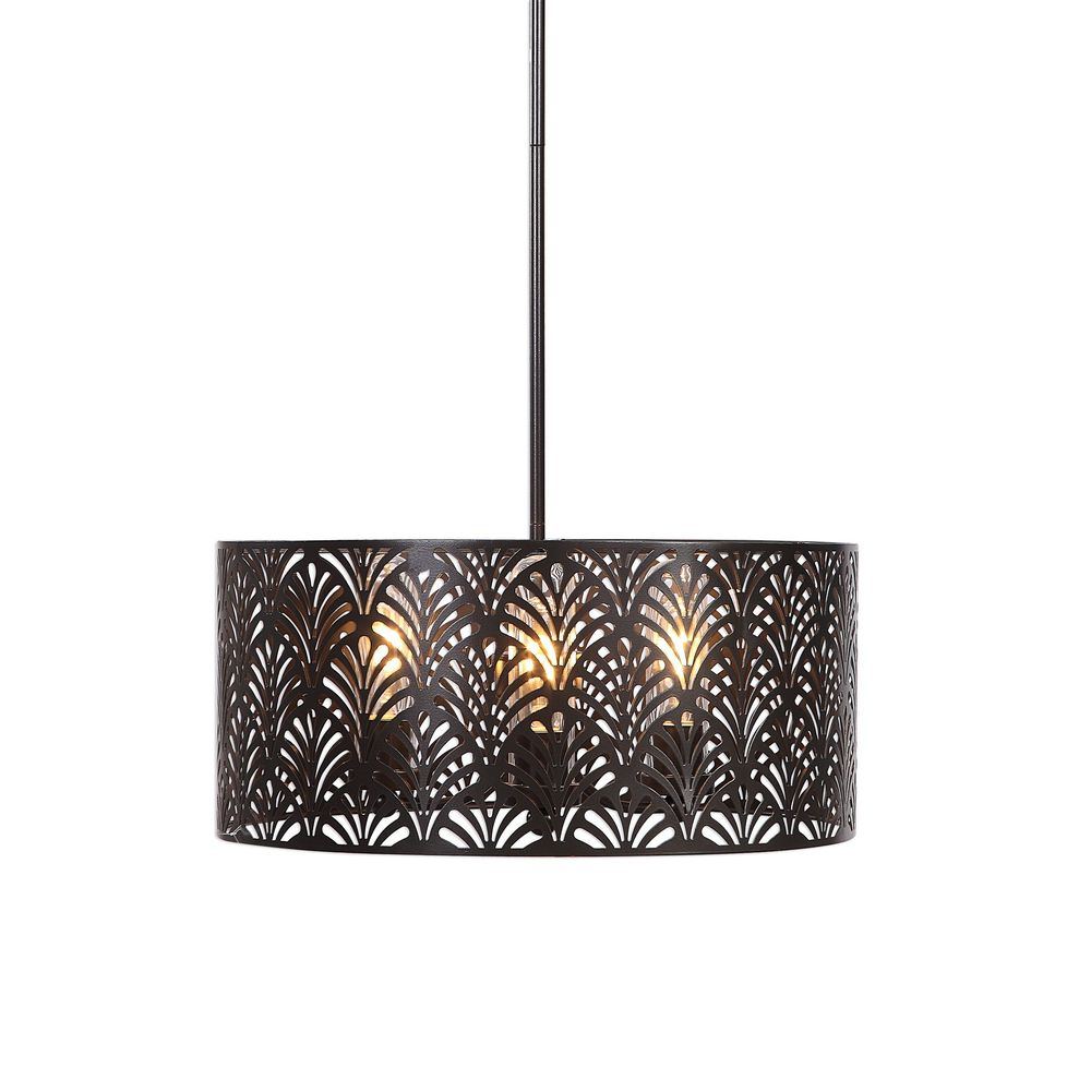 Uttermost Myrtle 3 Light Outdoor Pendant
