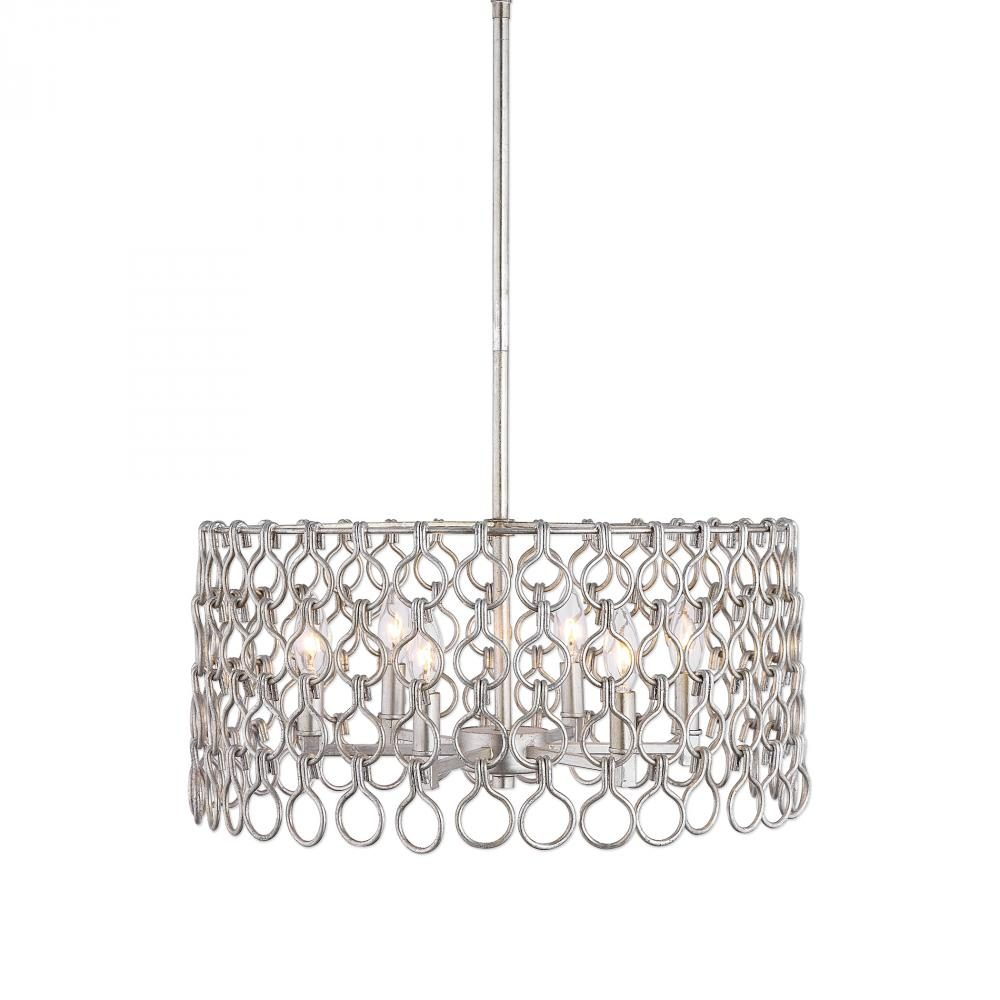 Uttermost Maille 6 Light Champagne Pendant