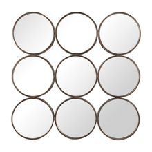 Uttermost 09426 - Uttermost Devet Welded Iron Rings Mirror