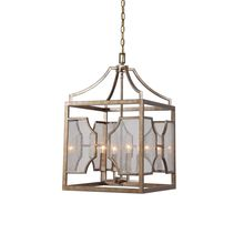 Uttermost 22142 - Uttermost Cates 4 Light Lantern Pendant