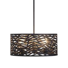 Uttermost 22156 - Uttermost Cypress 3 Light Outdoor Pendant