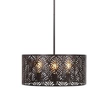 Uttermost 22157 - Uttermost Myrtle 3 Light Outdoor Pendant