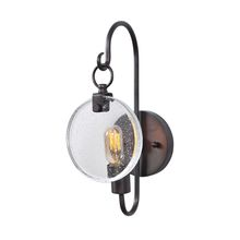 Uttermost 22520 - Uttermost Whitten 1 Light Bronze Sconce