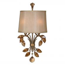 Uttermost 22487 - Uttermost Alenya 2 Light Gold Wall Sconce