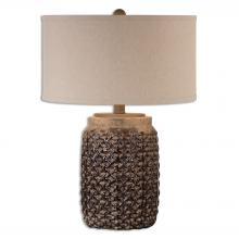 Uttermost 26612-1 - Uttermost Bucciano Textured Ceramic Table Lamp