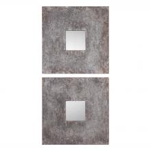 Uttermost 09208 - Uttermost Altha Burnished Square Mirrors S/2