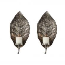 Uttermost 04138 - Uttermost Zelkova Leaf Wall Sconces S/2
